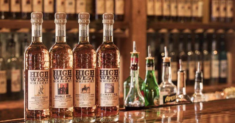 whiskey, high west distillery