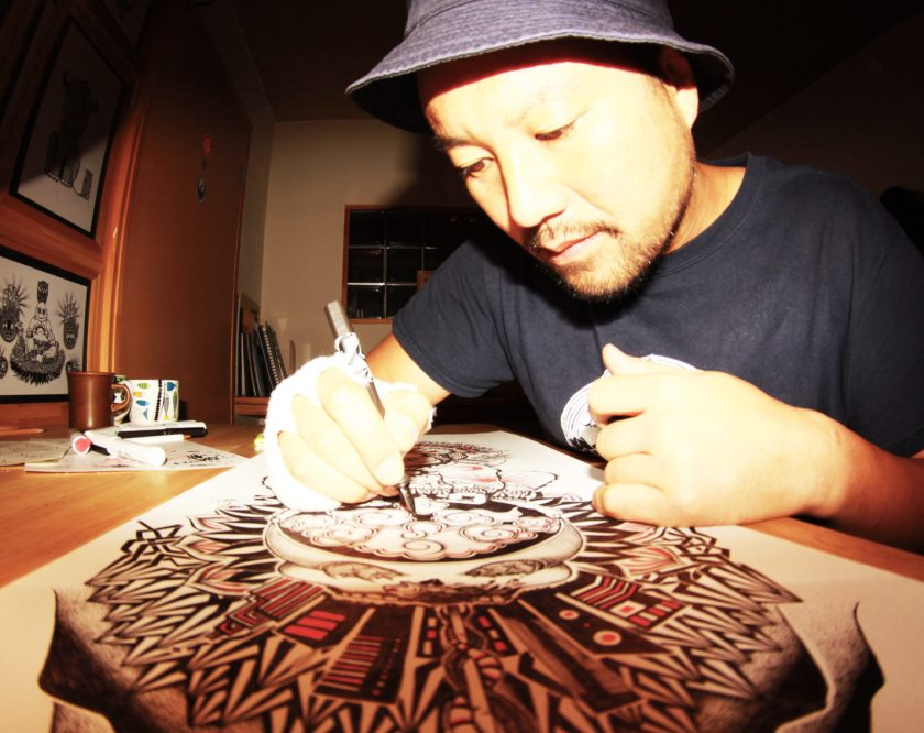 Kengo Kimura - the artist behind the Faction x Stance Sock collab
