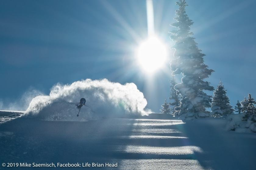 deepest snowpacks, Brian Head, utah