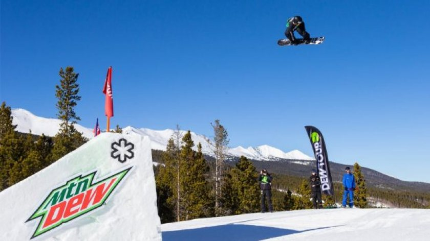 Dew Tour at Copper Mountain.