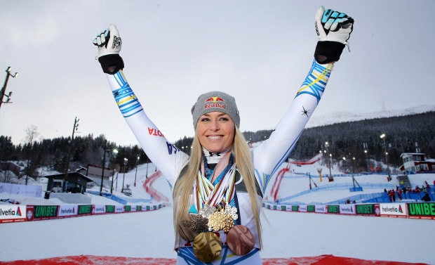 Lindsey Vonn retired early in 2019 due to injuries sustained throughout her incredible career.