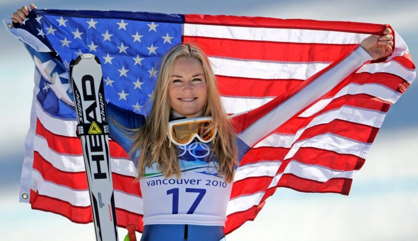 Lindsey Vonn took home three Olympic medals over her career.