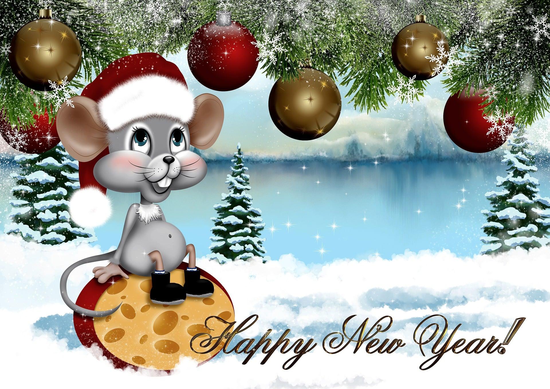 , С Новым годом!   Happy New Year!   З Новим роком!, SnowCalmth
