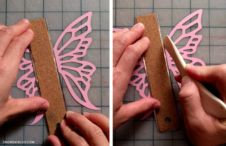 DIY HangBut Make Fold Lines