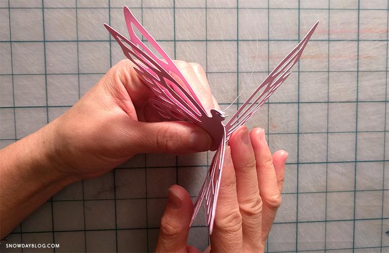 DIY HangBut Open Wings
