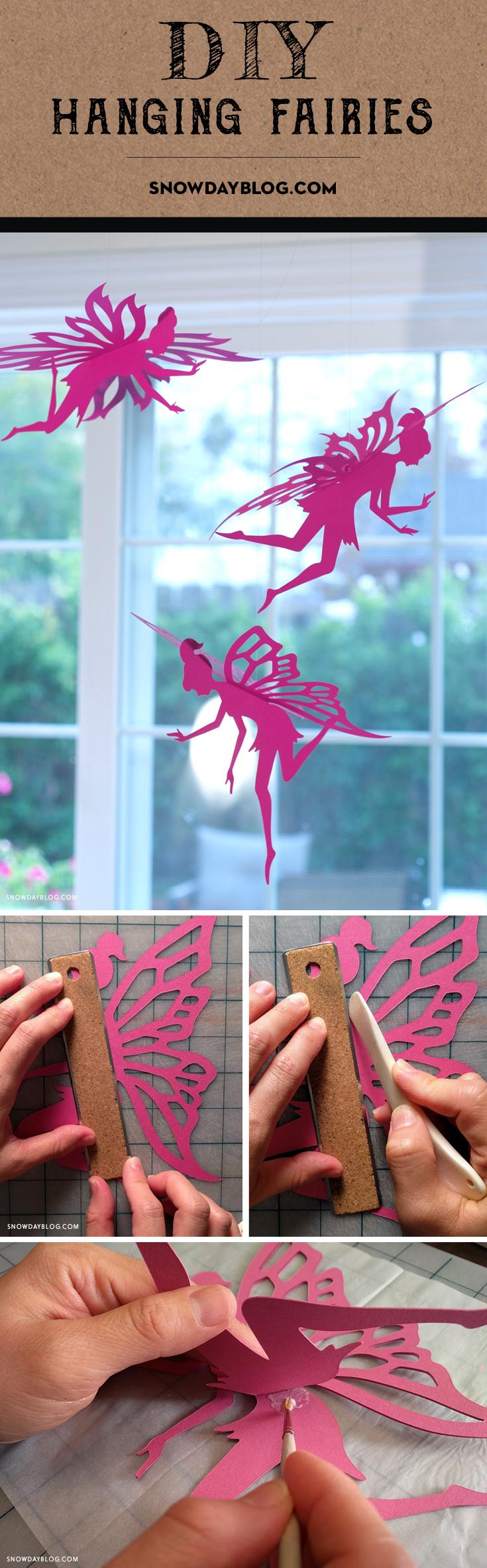 Hanging Fairies Pinterest Magenta