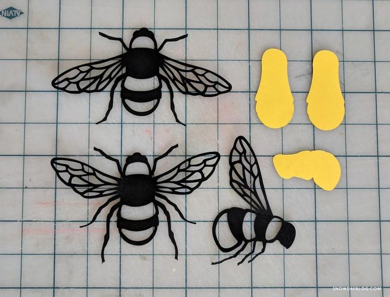 Bees Cutouts