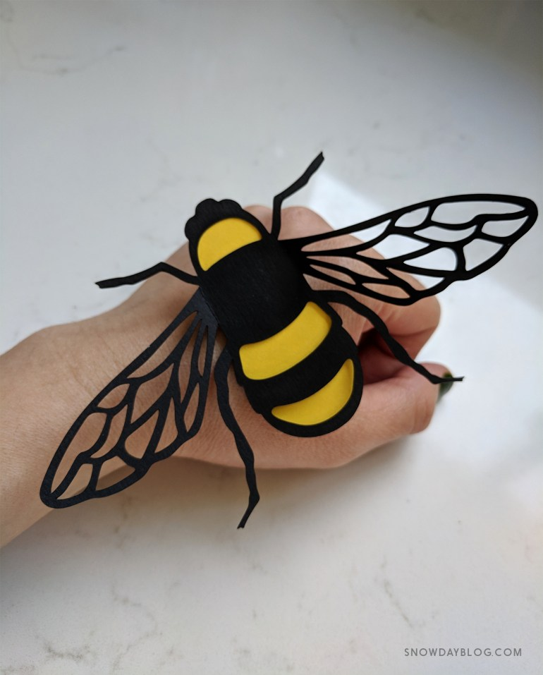 Bees Hand 2