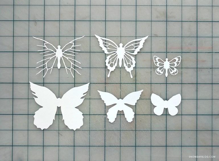 Prairies Butterflies Cut