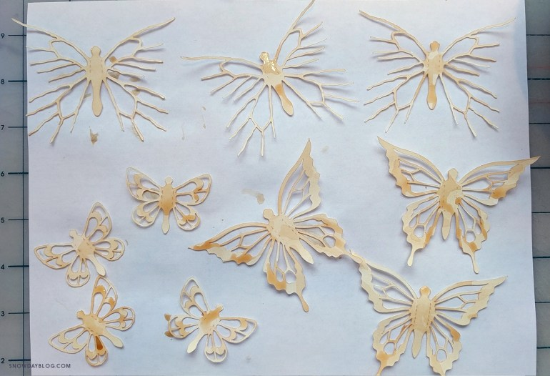 Prairies Butterflies Second Stain