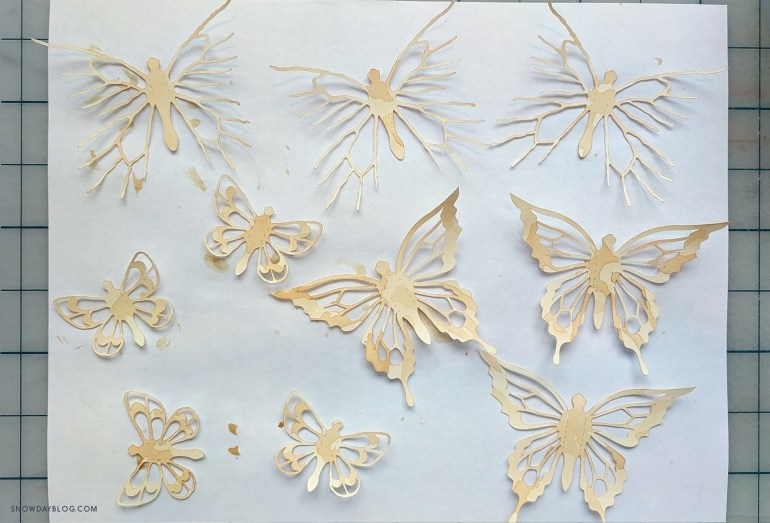 Prairies Butterflies Second StainDry