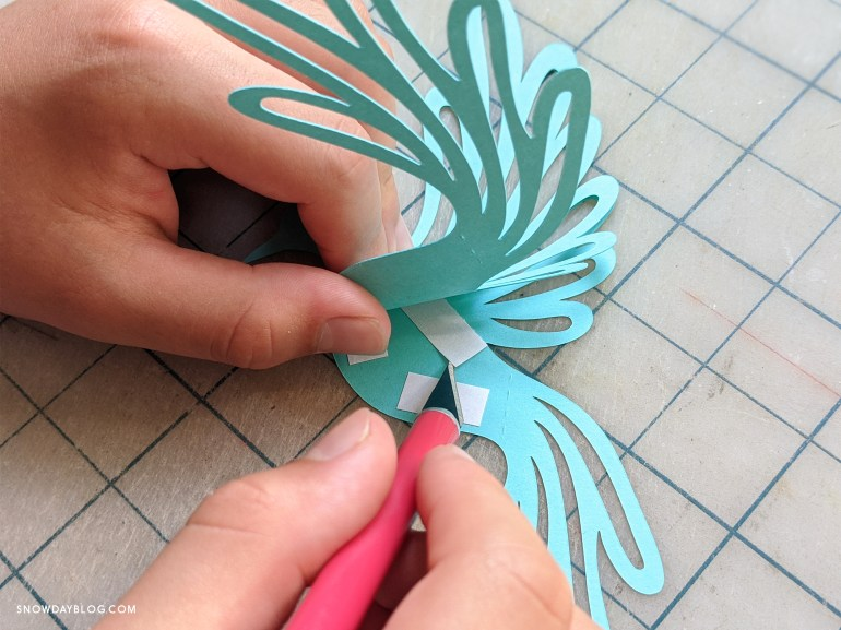 removing tape from dove, dove craft, diy
