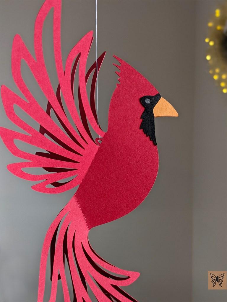 Cardinal close up