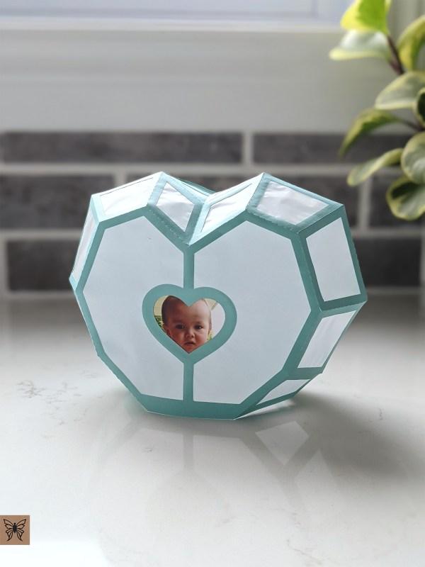 Baby Photo Holder, Valentines Gift