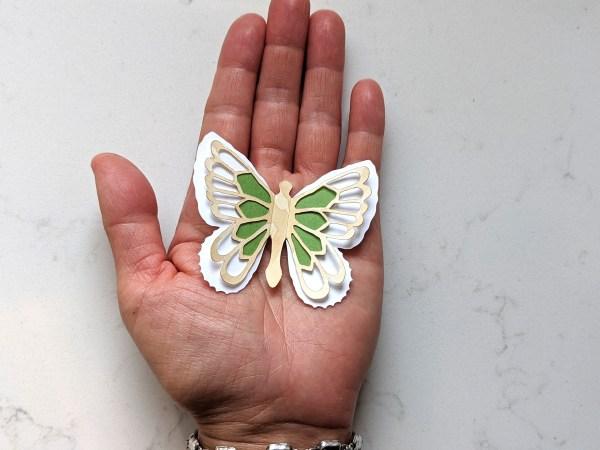 Abigail butterfly wall sticker