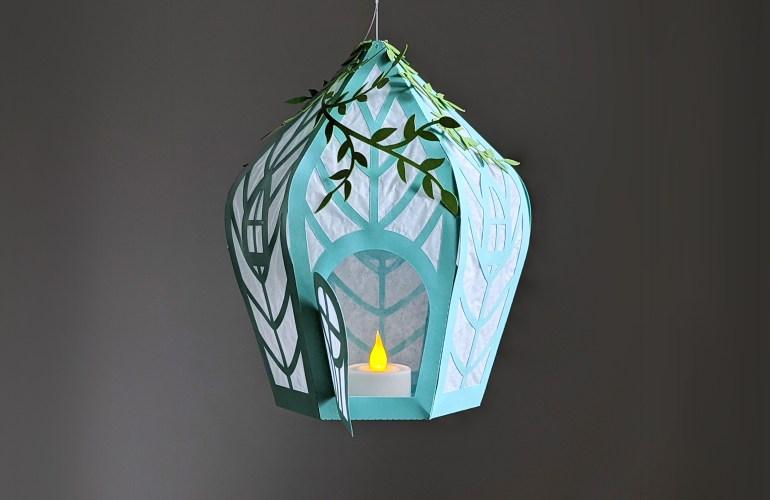 DIY Fairy House Lantern, Fairy House SVG