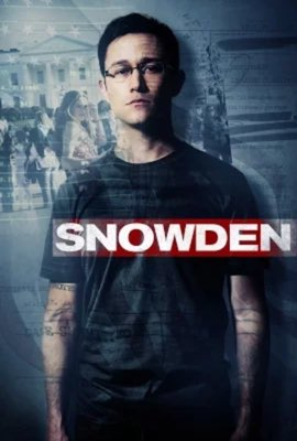 snowden film movie poster