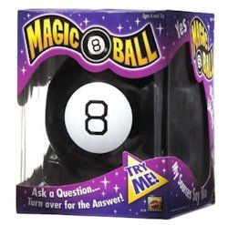 Magic 8 Ball has all the answers you need. Ask any question, turn over the Magic 8 Ball, and you'll get its answer.