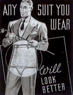 I prefer to call them men's compression garments.