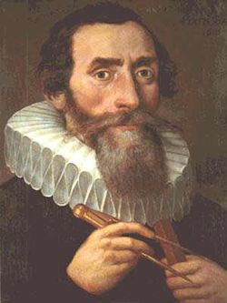 Johannes Kepler 1571 - 1630. Using Brahe's meticulous notes on the positions of Mars he was able to deduce that the planets orbit around the Sun, but in ellipses, not circles as Copernicus had assumed.