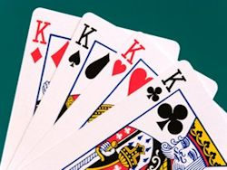 Traditional Names. Spades: David. Hearts: Charlemagne. Diamonds: Julius Caesar. Clubs: Alexander.