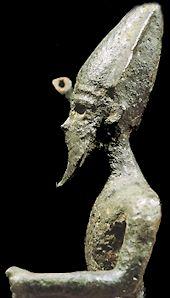Melkart, Phoenician god of the sea.