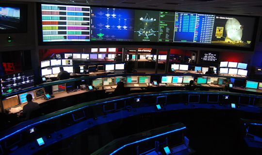 NASA JPL Spaceflight Operations Facility. A space geek Mecca Photo by Brad Snowder