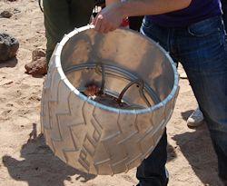 Rover Wheel-code. Photo by Brad Snowder.
