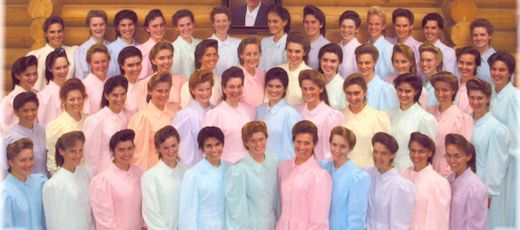 Warren Jeffs sentenced to life plus 20 years in prison as picture emerges of 50 brides, bred to worship the polygamous prophet.
