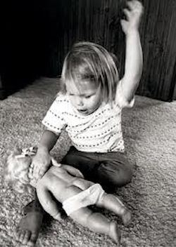 Spanking children is child abuse, primitive and barbaric child abuse.