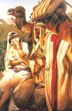 Judah and Tamar. Horace Vernet 1789 – 1863.