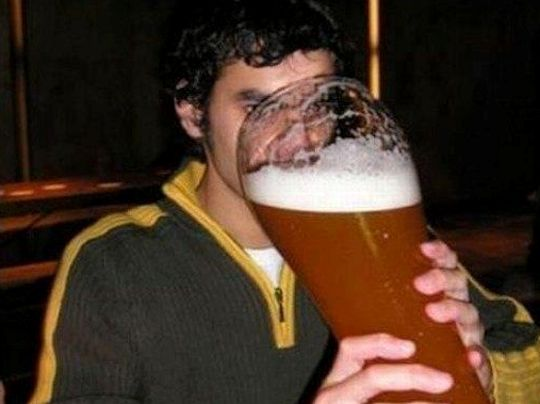 I'll just have one beer.