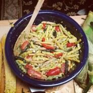 pasta-cilantro-pesto