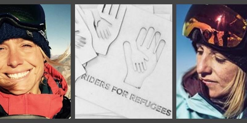 Comme Anne-Flore Marxer, donnez vos vieilles vestes de ski et snow