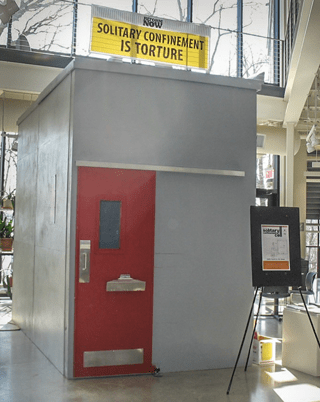 Solitary confinement is torture
