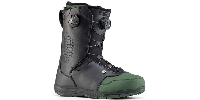 Ride Lasso Snowboard Boots Side View