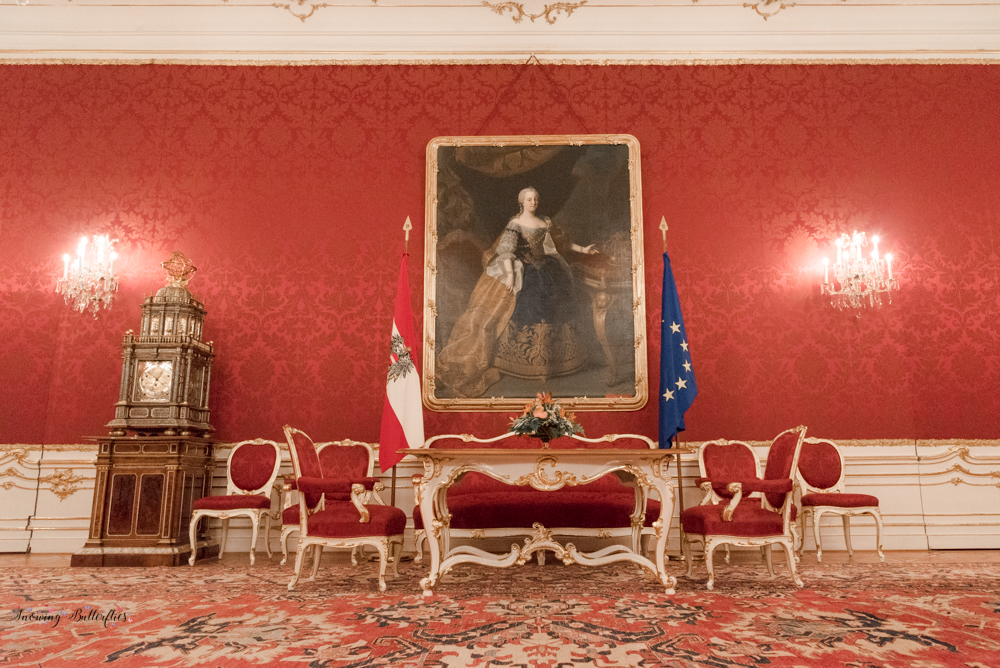 Hofburg Palace: a visit to the Austrian President´s office