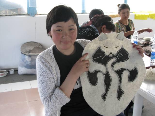 Snow Leopard Enterprise participants take pride in their craftsmanship