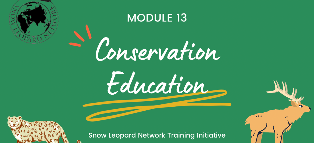Session 1: Introduction to Conservation Education
