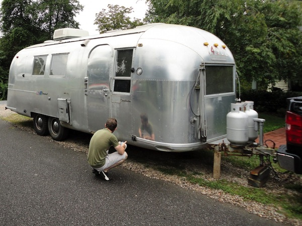 We Just Bought a Vintage Airstream to Renovate!