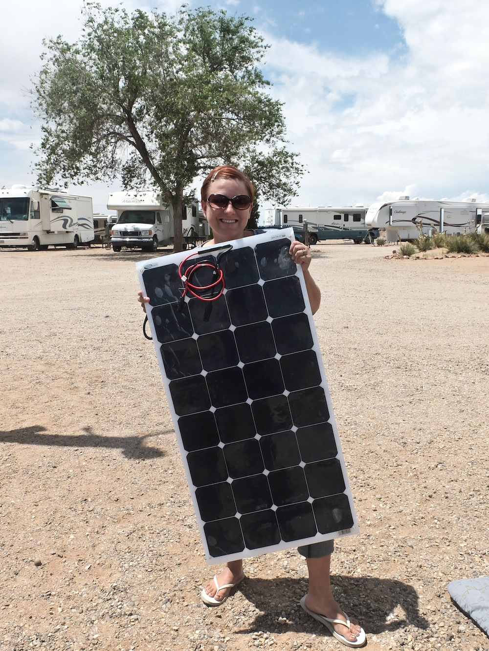 A Do-it-Yourself Airstream Solar Installation with Go Power! Solar Flex Panels