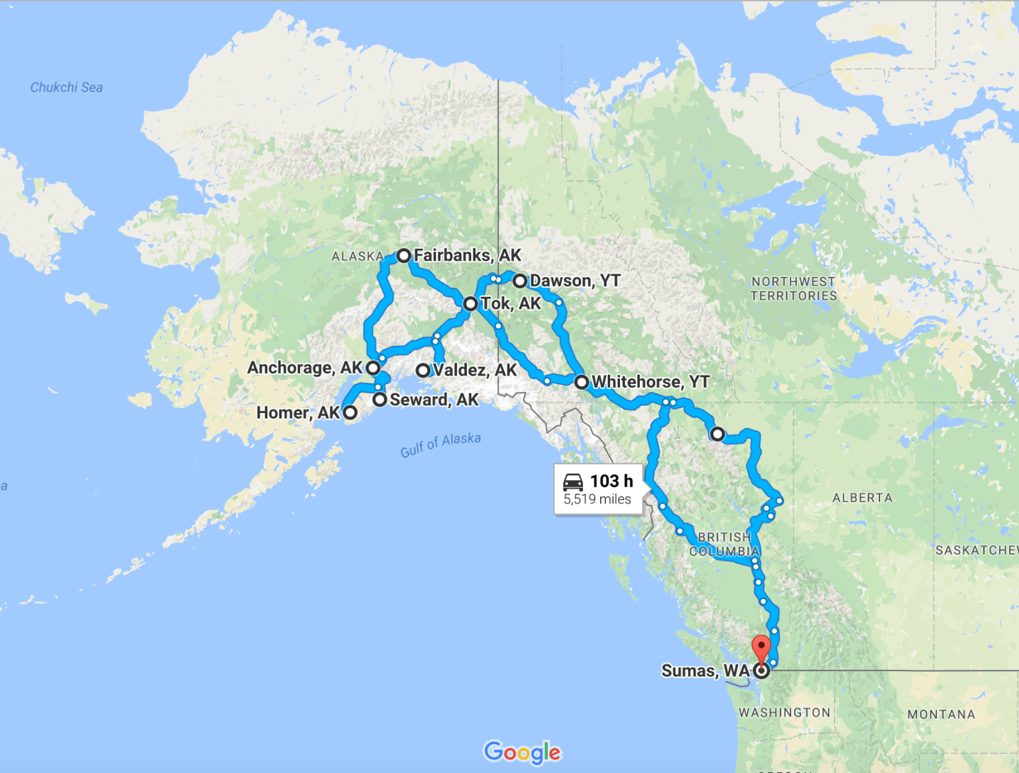 A Once-In-A-Lifetime RV Road Trip to Alaska