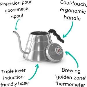 gooseneck induction rv kettle