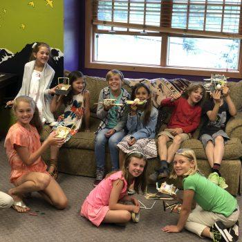 Peak Sunday school 4-6th grade class