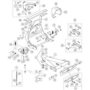 Pro Plus Lift Frame & AFrame Parts | SnowplowsPlus  Part 2