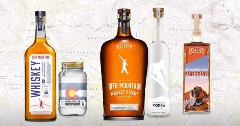 10th Mountain Whiskey range