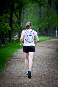 Any jostling the vest does while running is not uncomfortable