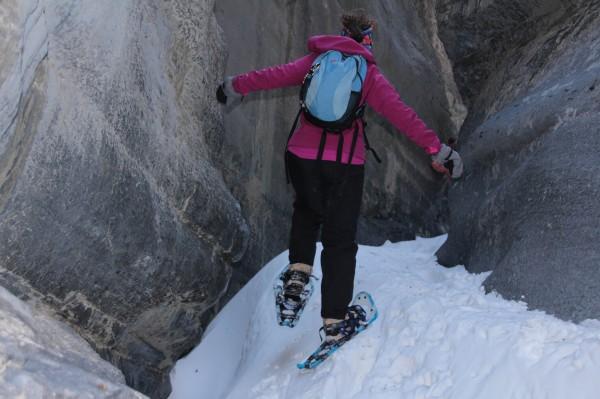 Canyon hiking