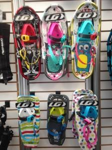 Louis Garneau's line of kids' snowshoes.