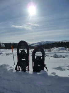 Snowshoeing in Alaska